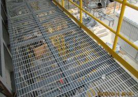 Sàn thao tác Grating Steel